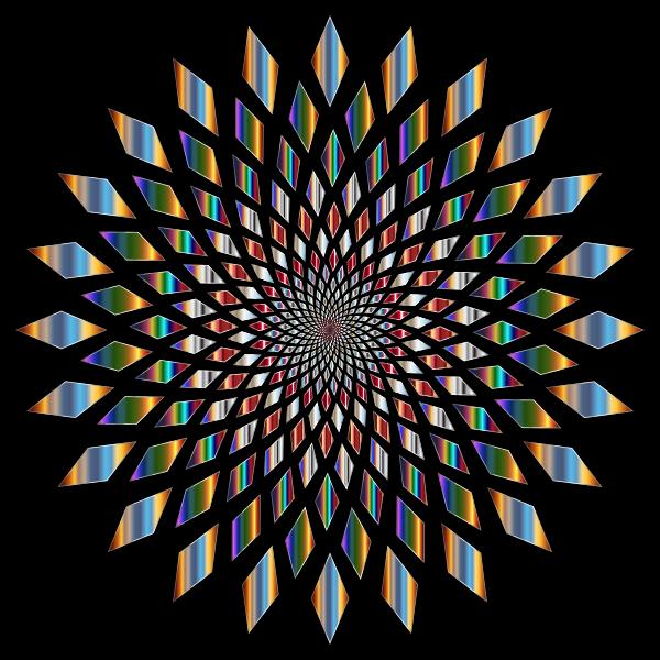 Prismatic Abstract Vortex 31 4