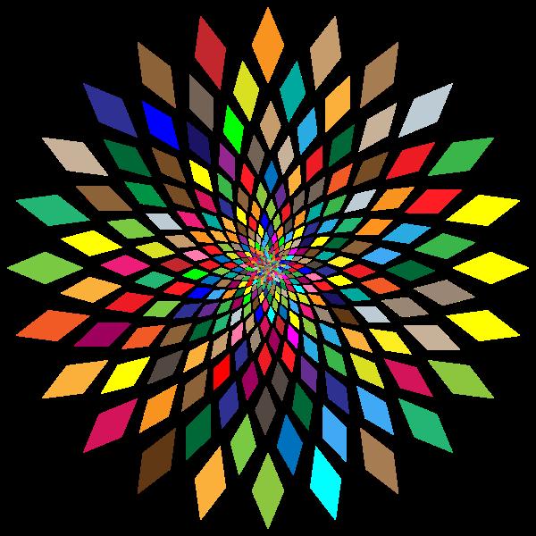 Prismatic Abstract Vortex 31
