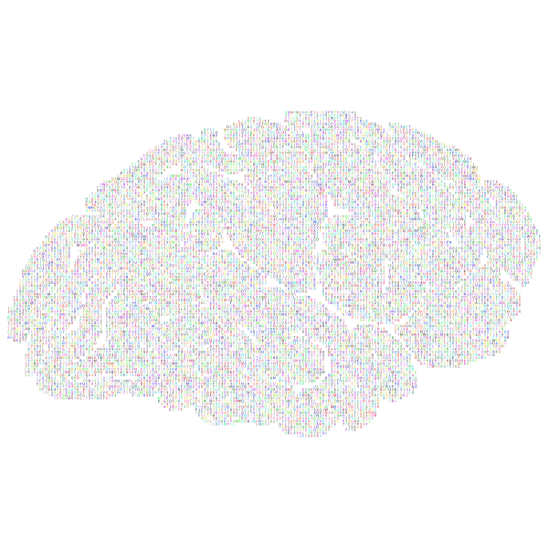 Prismatic alphanumeric brain