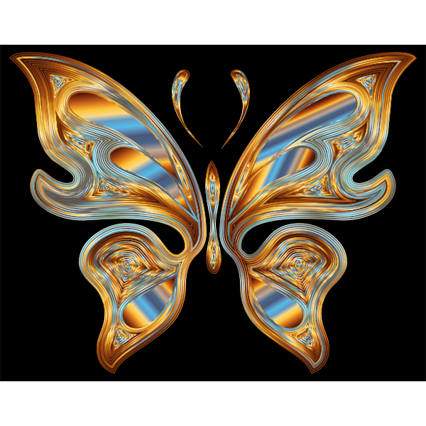 Prismatic Butterfly 13 Variation 3