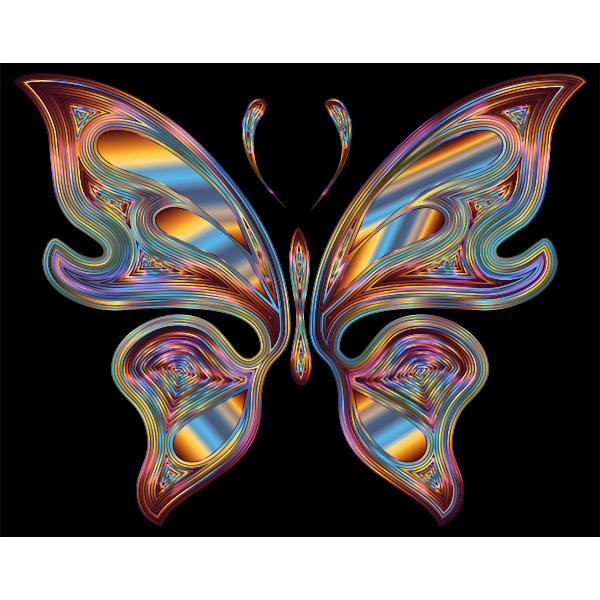 Prismatic Butterfly 13 Variation 6