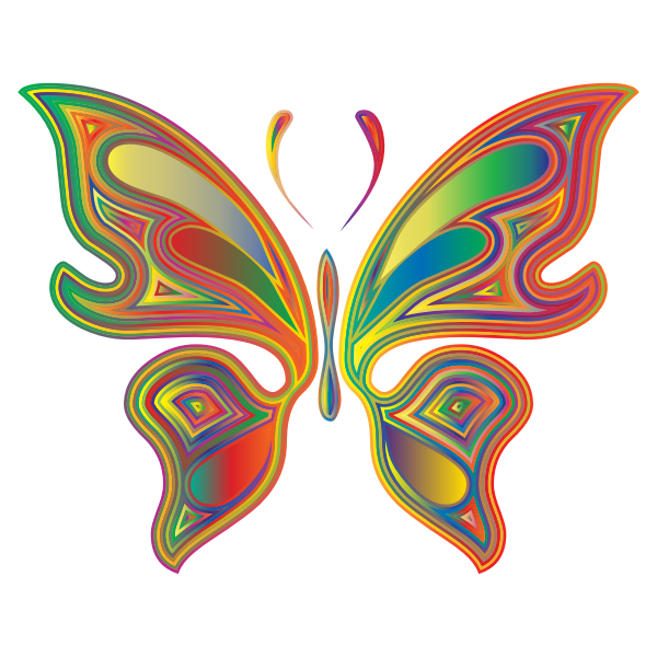 Prismatic Butterfly 4 Variation 2