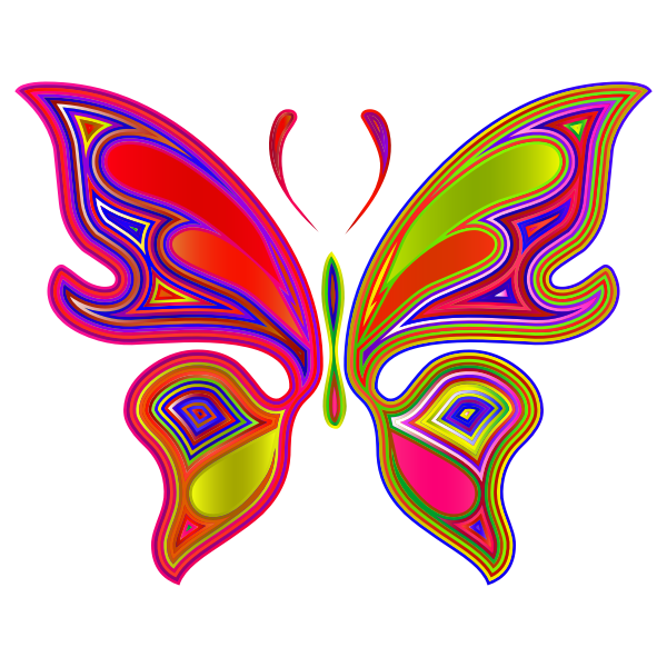 Prismatic Butterfly 4 Variation 3