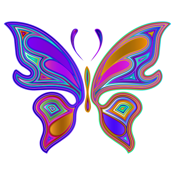 Prismatic Butterfly 4 Variation 4