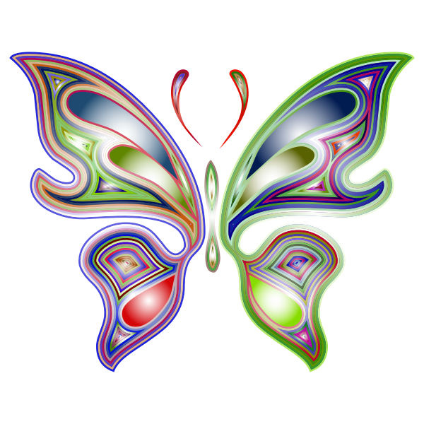 Prismatic Butterfly 5 Variation 2