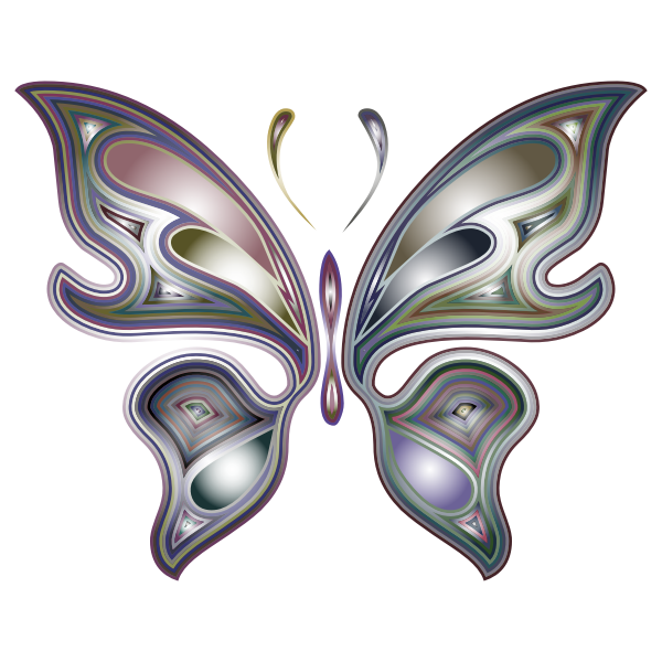 Prismatic Butterfly 5 Variation 3