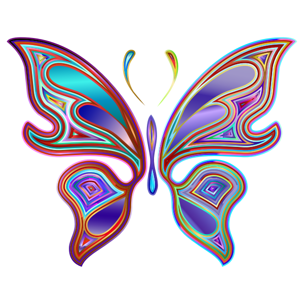 Prismatic Butterfly 6 Variation 2