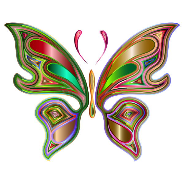 Prismatic Butterfly 6 Variation 3
