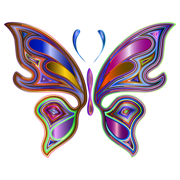 Prismatic Butterfly 6 Variation 4