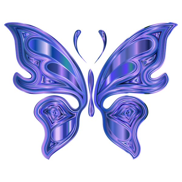 Prismatic Butterfly 7 Variation 2