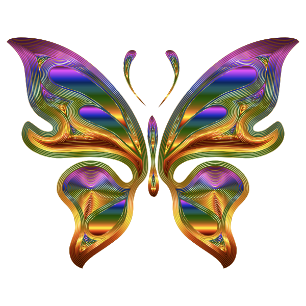 Prismatic Butterfly 9 Variation 2