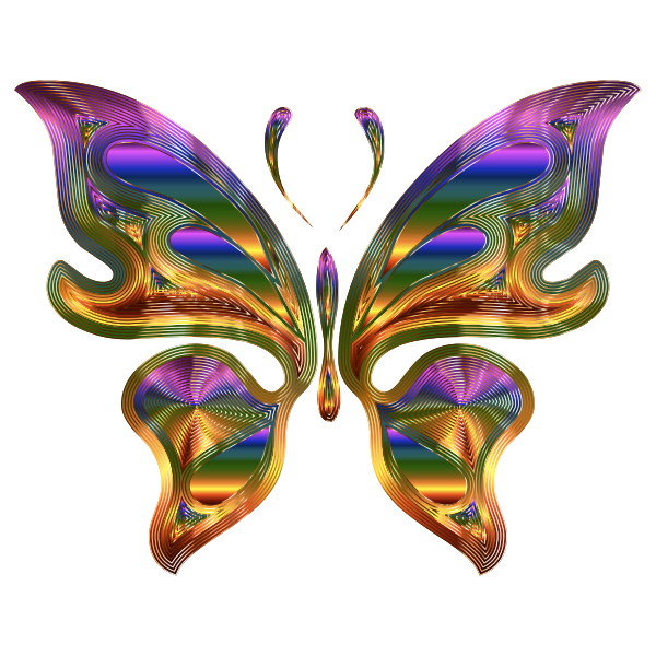 Prismatic Butterfly 9 Variation 3