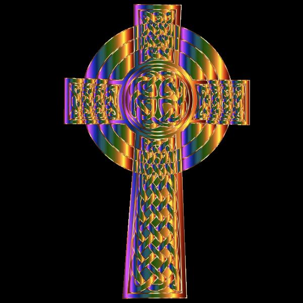 Prismatic Celtic Cross 2 Variation 2