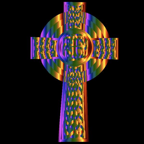 Prismatic Celtic Cross 2