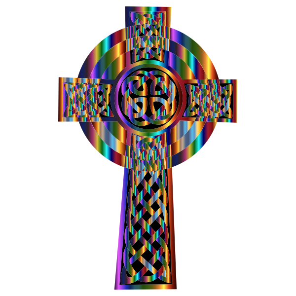 Prismatic Celtic Cross
