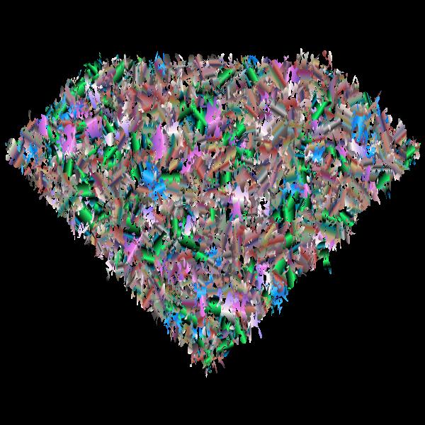 Prismatic Chaos Diamond 7