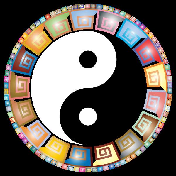 Prismatic Decorative Yin Yang 2
