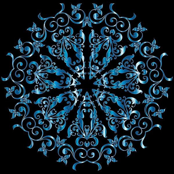 Prismatic Floral Design 10