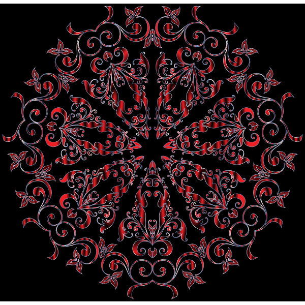 Prismatic Floral Design 11