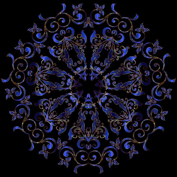 Prismatic Floral Design 12