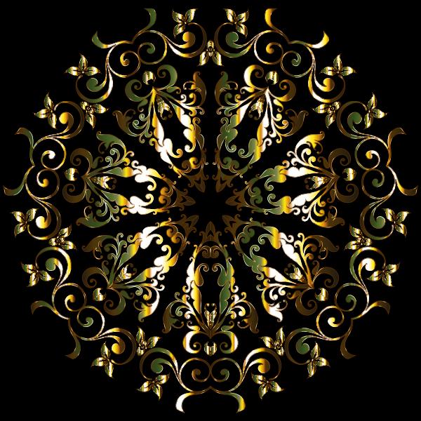 Prismatic Floral Design 3