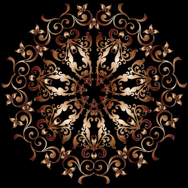 Prismatic Floral Design 5