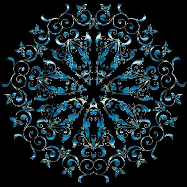 Prismatic Floral Design 7