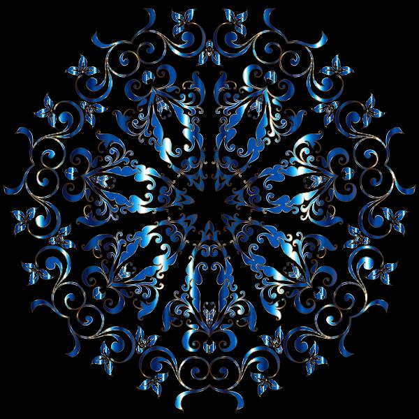 Prismatic Floral Design 8