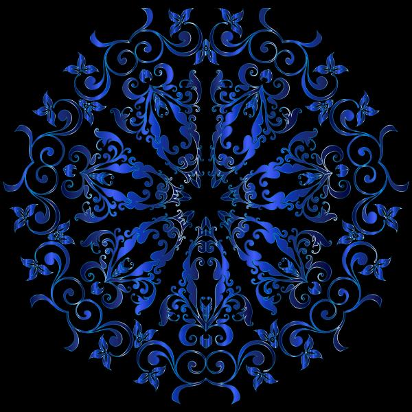 Prismatic Floral Design 9