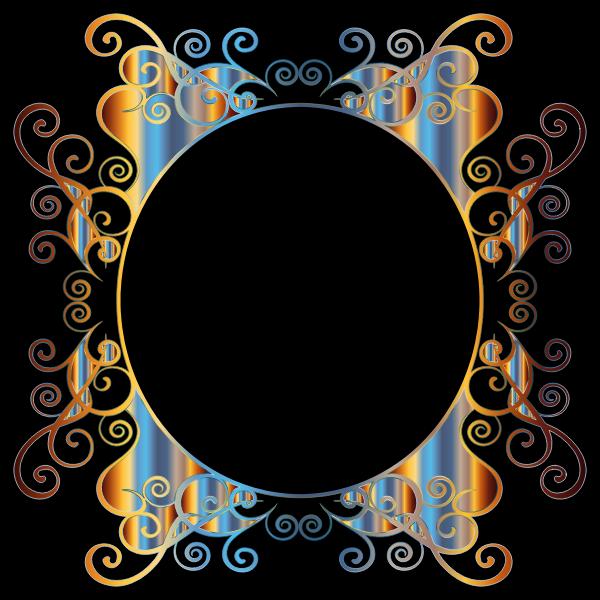 Prismatic Flourish Frame 2