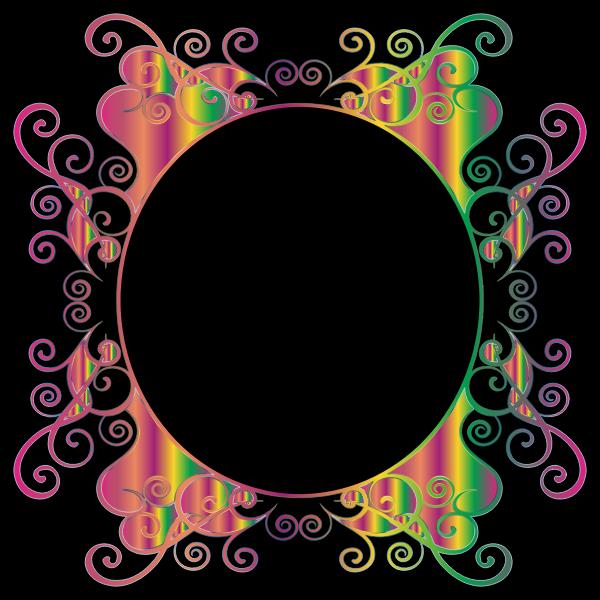 Prismatic Flourish Frame 3