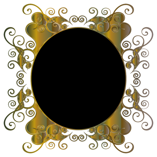 Prismatic Flourish Frame 4 No Background