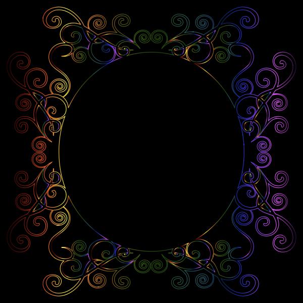 Prismatic Flourish Frame 7