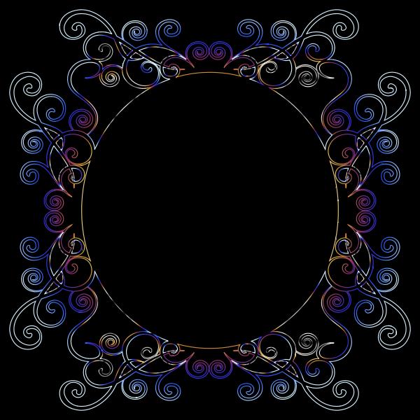 Prismatic Flourish Frame 8