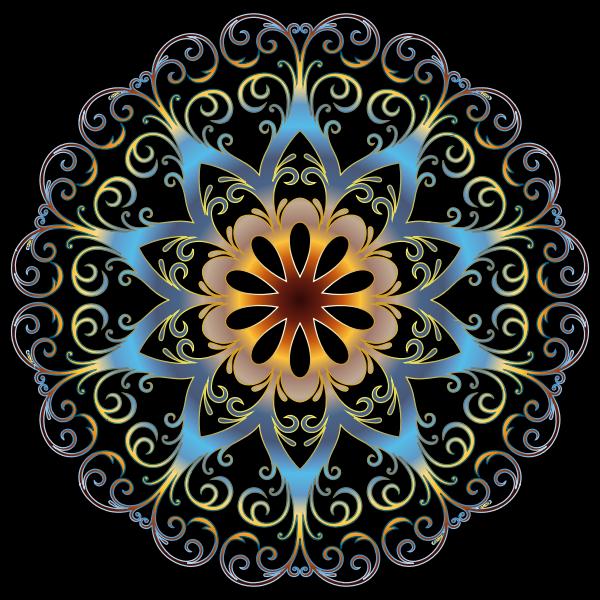 Prismatic Flourish Snowflake 2