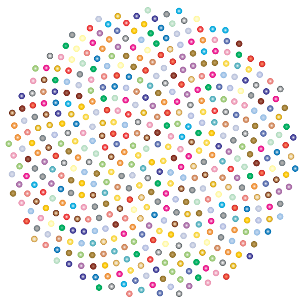 Prismatic Flower Formation Circles 2