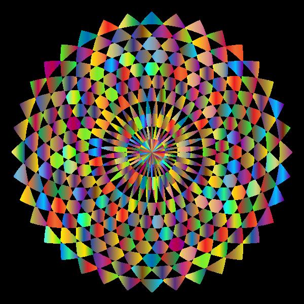 Prismatic Geometric Blossom-1577911606