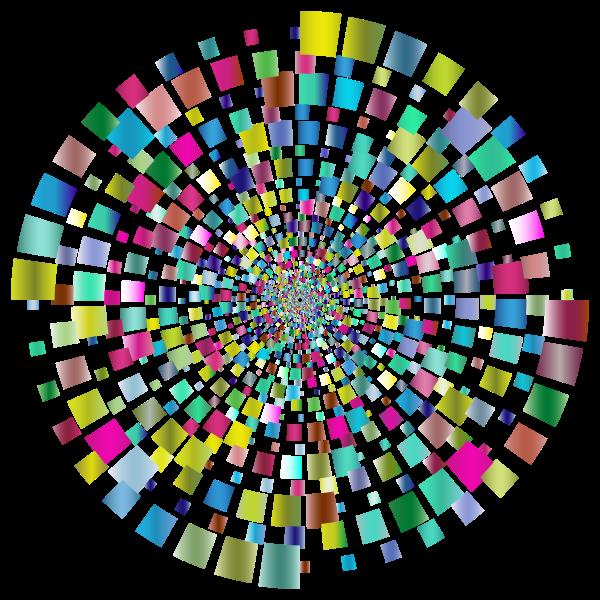 Prismatic Geometric Vortex 3