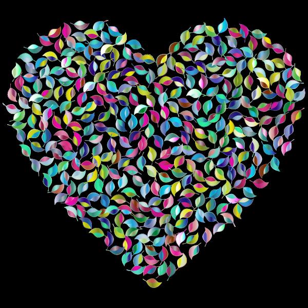 Prismatic Green Heart 3