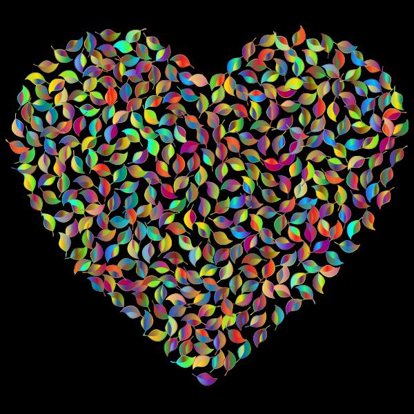 Prismatic Green Heart 4
