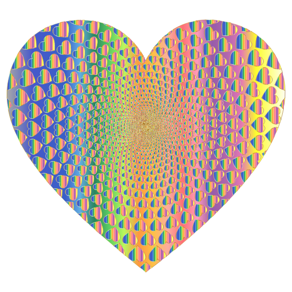 Prismatic Hearts Vortex Heart 11