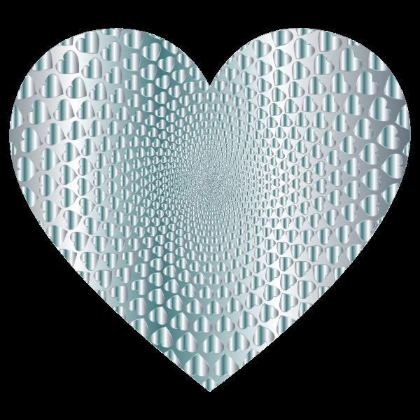 Prismatic Hearts Vortex Heart 14