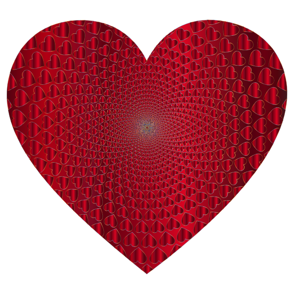 Prismatic Hearts Vortex Heart 15
