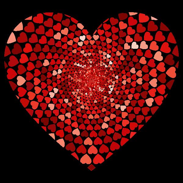 Prismatic Hearts Vortex Heart 2