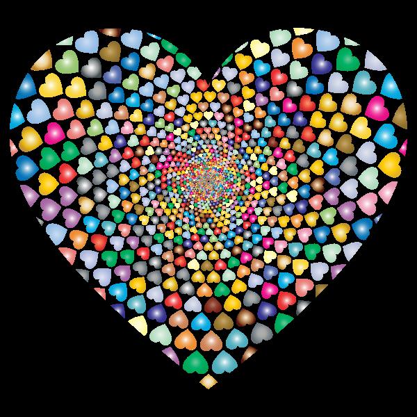 Prismatic Hearts Vortex Heart 3