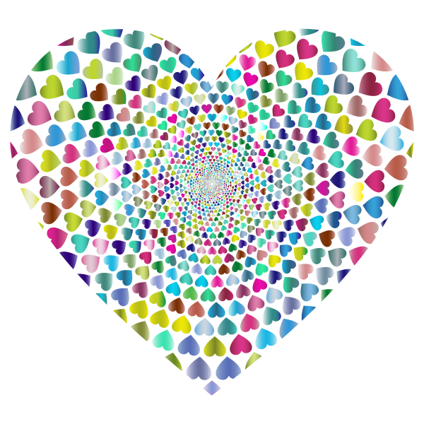 Prismatic Hearts Vortex Heart 5