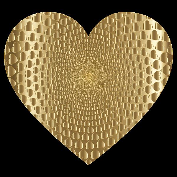 Prismatic Hearts Vortex Heart 8