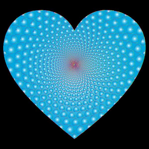 Prismatic Hearts Vortex Heart 9