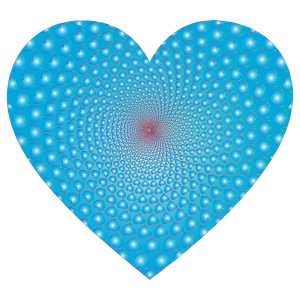 Prismatic Hearts Vortex Heart 9