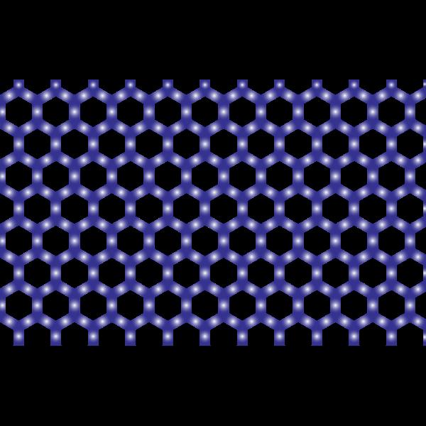 Prismatic Hexagonal Geometric Pattern 8 No Background